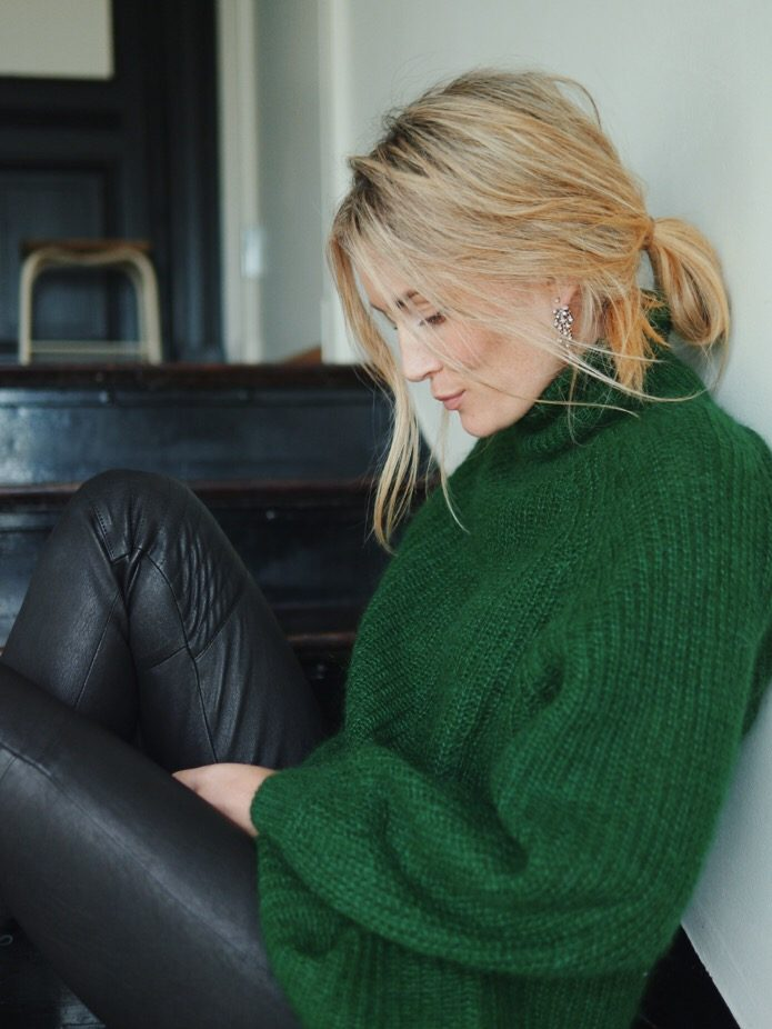About that green sweater Camilla Pihl